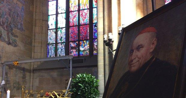 V chrámu sv. Víta uložili ostatky kardinála Berana: Vyplnilo se mu poslední přání