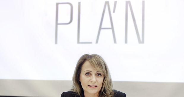 Primátorka Prahy Adriana Krnáčová představila Metropolitní plán.