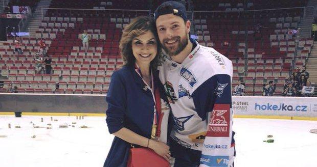 Vlaďka s přítelem Michalem Gulašim