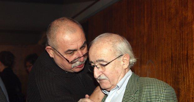 Andrej Hryc s Jurajem Herzem.