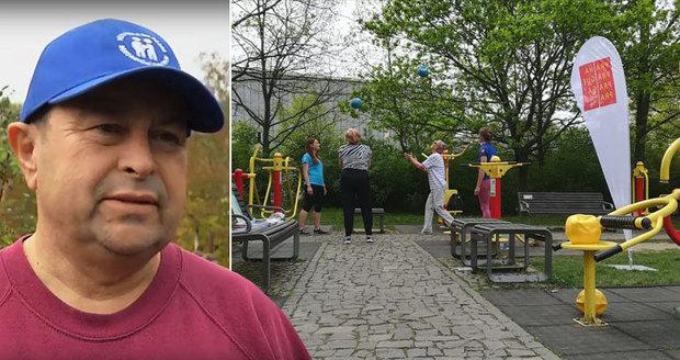 56ee90564c3 Aleš Pivoda (65) se třicet let nehýbal. Teď znovu sportuje.