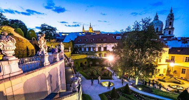 Vrtbovská zahrada v Praze