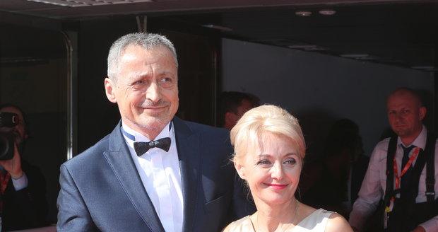 Veronika s manželem Martinem Stropnickým
