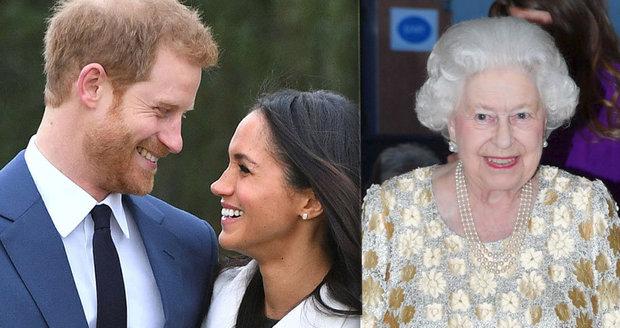 Nečekaně štědrý svatební dar pro Harryho a Meghan od královny! To je něco!