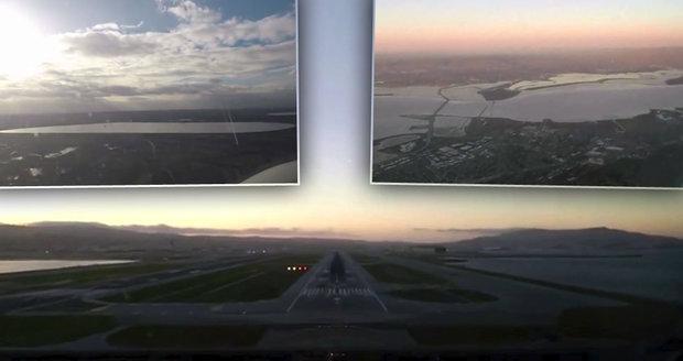 Cesta z Londýna do San Francisca z pohledu pilota
