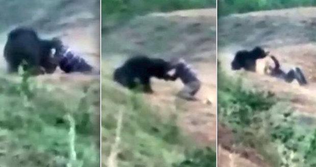Taxikář si chtěl udělat selfie se zraněným medvědem: Šelma ho roztrhala na kusy!