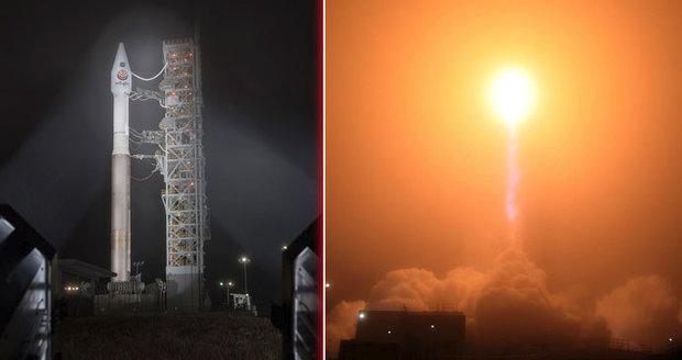 Revoluční mise na Mars: Ze Země odlétla sonda, která pronikne do jádra rudé planety