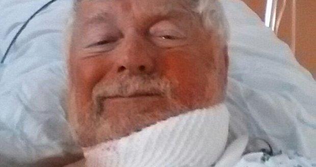 Klíma je po operaci.
