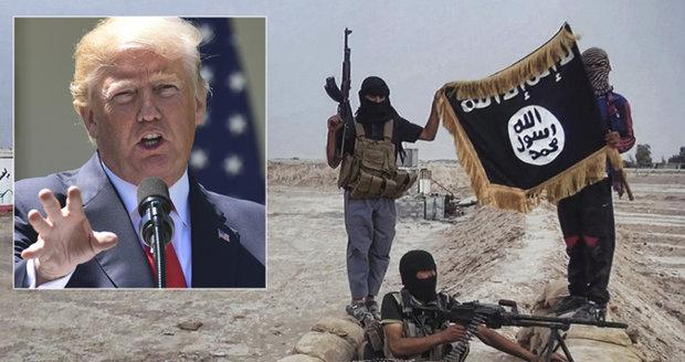 Pět nejhledanějších velitelů Islámského státu zadrženo, pochlubil se Trump
