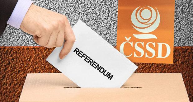 Referendum je tady. Sociální demokraté rozhodnou o svém vládním angažmá
