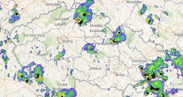 Předpověď počasí v Česku (ilustrační foto)