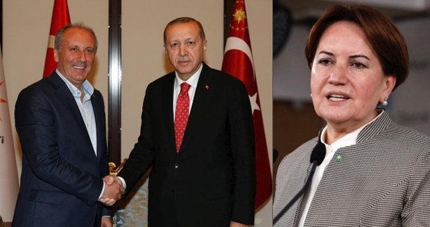 """Pět vyzyvatelů Erdogana: Jedna žena, jeden vězeň i hlasitý kritik """"uzurpování moci"""""""