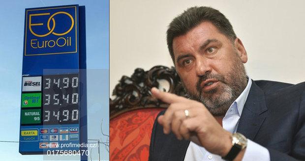 Zemanův poradce Nejedlý se přiživuje na státních benzinkách. Stlačeným plynem