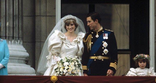 V roce 1981 stála svatba princezny Diany a prince Charlese zhruba 48 milionů dolarů.