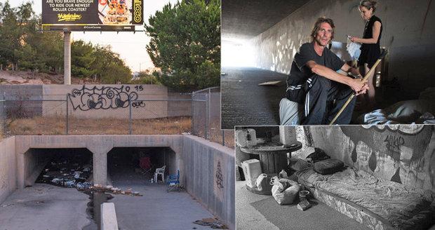 Lidské krysy: Pod útrobami Las Vegas žijí v kanálech stovky Američanů