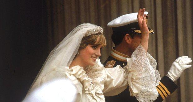Svatební šaty: Diana tradice porušila, největší rebelka je ale Meghan!