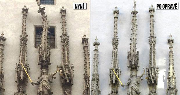 VBrně chtějí opravit pokřivenou věžičku a smazat tak 500 let starou hanbu.