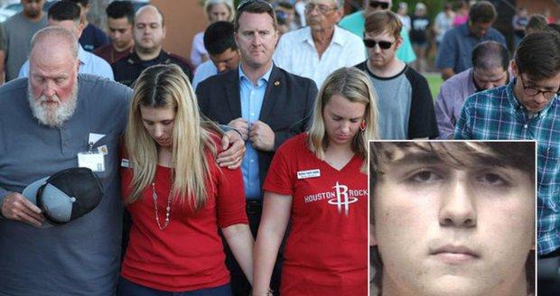 Školní střelec zabil v Texasu devět studentů a učitele. Pak se bál zastřelit sebe