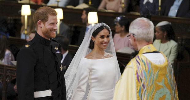 Královská svatba Harryho a Meghan.