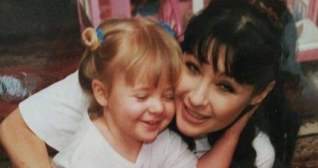 Dáda Patrasová s malou Aničkou