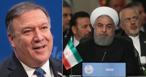 """USA uvalí na Írán tvrdé sankce. """"Jaderné zbraně nikdy nezíská,"""" slíbil ministr"""