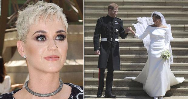 Katy Perry Zkritizovala Svatebni Saty Meghan Kate Vyhrala Vzkazala