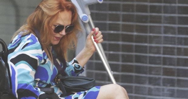 2015 - Dagmar Havlová se po zlomenině vnějšího kotníku několik týdnů pohybovala na invalidním vozíku.