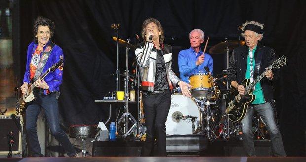 Koncert Rolling Stones v Londýně