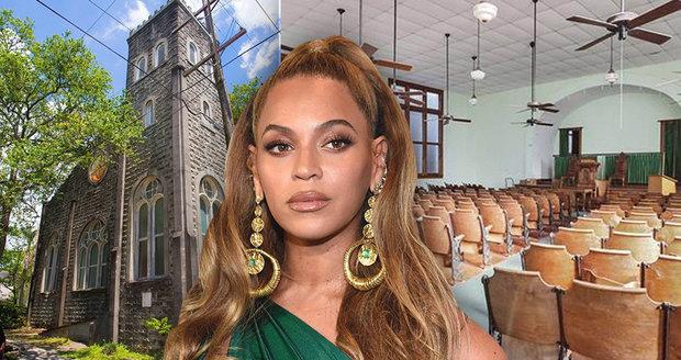263a558513f Beyoncé si koupila kostel! Je 100 let starý a plísně je v něm ...