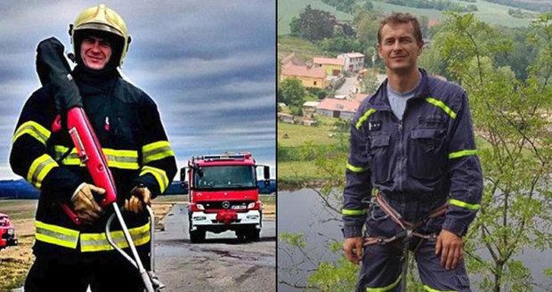 Hasiče na Tachovsku opustil kolega: Luboš, táta dvou malých dětí, se zabil na motorce