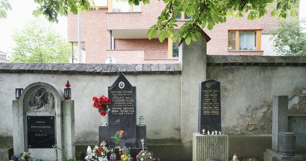 Hrob Jiřiny Švorcové