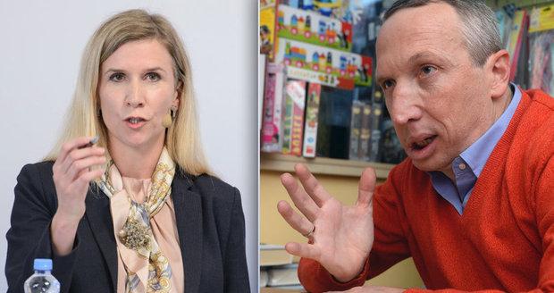 """Valachová zkouší zase prosadit """"kariérní řád"""". Klaus ml. tvrdě: Paskvil"""