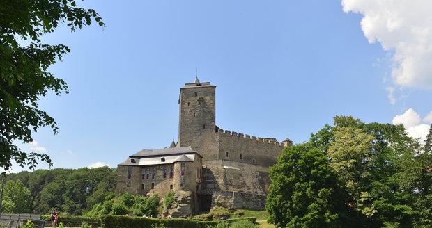 Gotický hrad Kost