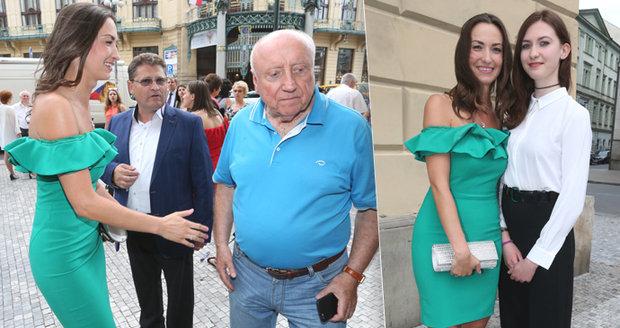 Narozeninový koncert Felixe Slováčka: Milenka Gelemová zářila, manželka Patrasová nepřišla