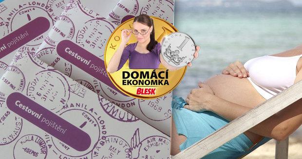 Těhotenství či chronická nemoc: Kdy vás na dovolenou nepojistí?