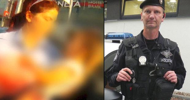 Strážník Luboš rozbil okno auta se zmírající holčičkou: Poděkovali mu rodiče aspoň?