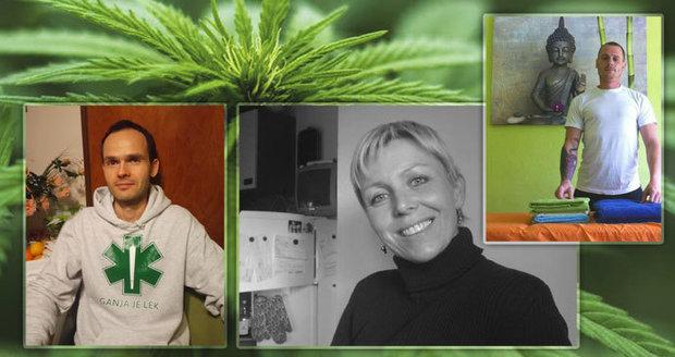 Čechy kvůli marihuaně odsoudili. Tomáš s ní prý vyhnal rakovinu, Marek léčí deprese