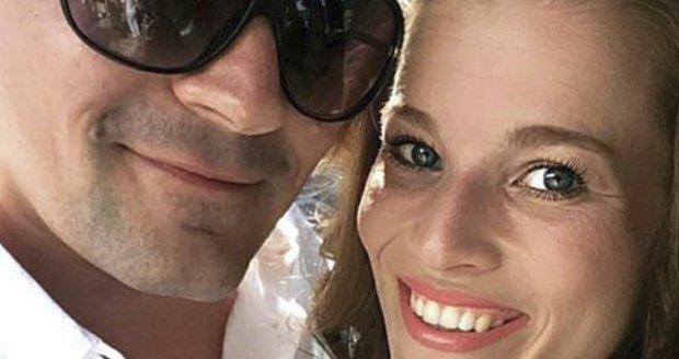 Michaela Gemrotová s expřítelem na Krétě