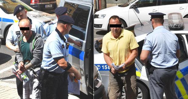 Deset let stará vražda na Chebsku: Expolicista s kumpánem skončili ve vazbě
