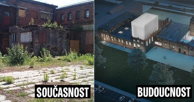 Budovy bývalých jatek se v budoucnu změní k nepoznání.