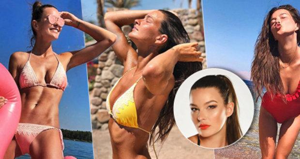 Sexy Švantnerová dráždí u moře: Za plavky dala víc než za letenku!