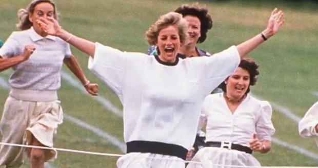 Princezna Diana v roce 1989 vyhrála závod