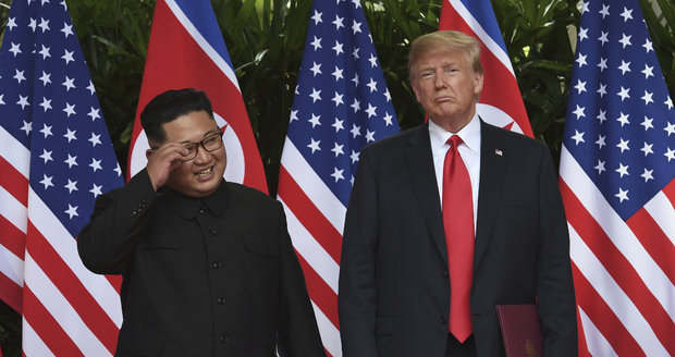 Trump pozval Kima na rychlé rande. Na neděli do demilitarizované zóny