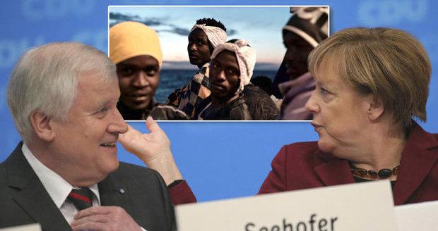 """""""Už s tou ženou nemůžu pracovat."""" Merkelové se otřásá koalice kvůli migrantům"""