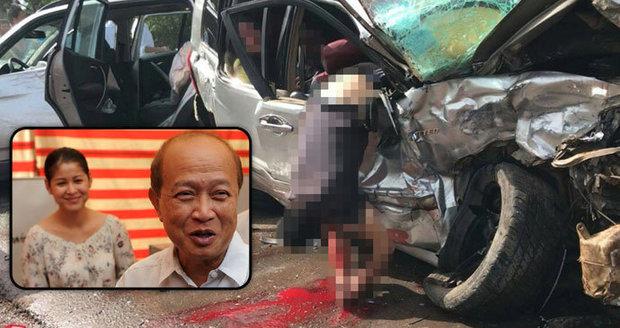 Nešťastný princ: Zranil se při autonehodě, jeho žena srážku nepřežila