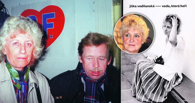 Havel se chtěl rozvést! 13 let se zmítal mezi přítelkyní a manželkou.