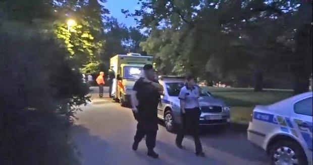 Noční střelba v Riegrových sadech: Muži bojovali o lásku ženy s plynovou pistolí