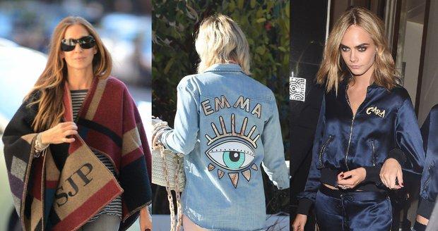 Sebestředné celebrity: Kdo nosí oblečení s vlastním jménem?
