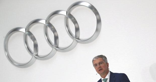 Šéf Audi ve vazbě! Vyšetřovatelé se bojí, že by mařil vyšetřování kauzy Dieselgate