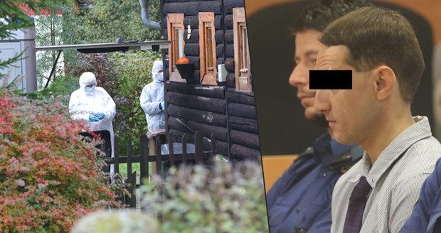 Vražda v Doubici: Obžalovaný při rekonstrukci lhal! Znalkyně rozmetaly jeho obhajobu